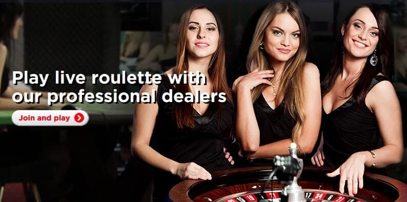 live casino hot dealers